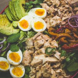 Chicken and Char-grilled Pepper Salad
