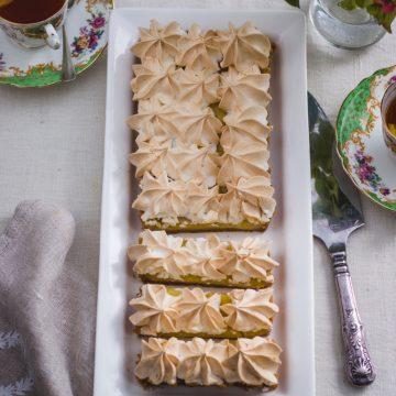 Lemon Meringue Slices