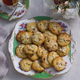 Orange and Almond Chocolate Chip Cookies