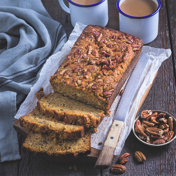 Carrot and Nut Loaf