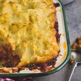 Family Favourite Corned Beef Pie