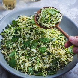 Cabbage Tabbouleh Salad