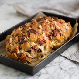 Cheese and Sun-dried Tomato Bread