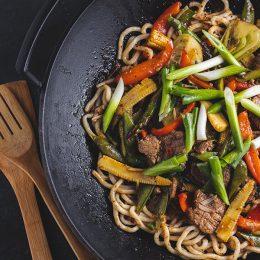 Stir-fry Fillet with Vegetables