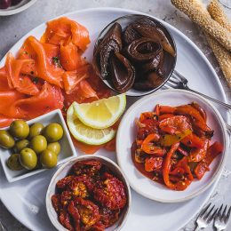 Antipasti with Olives