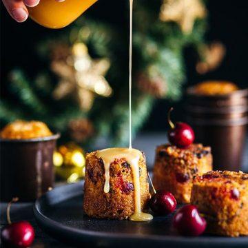 Christmas Malva Puddings