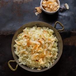 Basmati Rice with Coconut