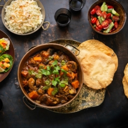 Janet's Lamb Curry with Butternut and Aubergine