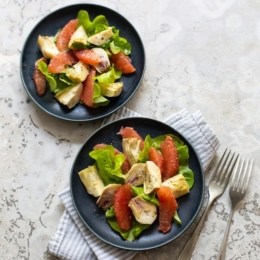 Grapefruit and Artichoke Salad
