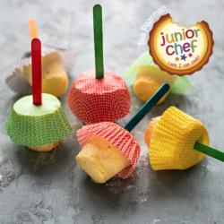 Mango Ice Cream Cups