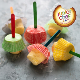 Mango Ice Cream Cups