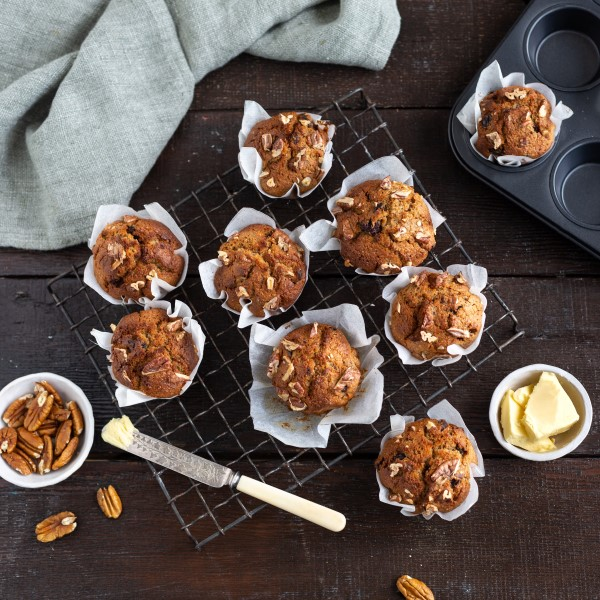 Muffins_deliciouswith butter
